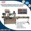 Automatic 6 Heads Liquid Anti-Corrsion Filling &Double Heads Capping Machine