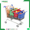 4 Tote Colorful Supermarket Cart Bag