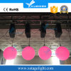 LED Lifting Color Ball DMX LED Kinetic Sphere Winch Light