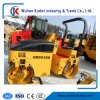 Full Hydraulic Double Drum Road Roller with Pad Foot Optional
