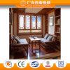China Top Ten Aluminium Factory 65 Series Classical Flat Open Window
