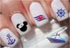 Fashion Cruise Cute Temporary Water Transfer Nail Sticker