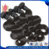 Natural Black Body Wave Brazilian Virgin Human Hair Extension/ Hair Weave