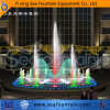Modern LED Light Dry Floor Fountain