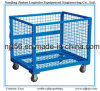Galvanizied or Powder Coating Folding and Stackable Steel Container
