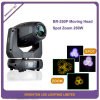 Mini DMX-512 LED Lights 250W Moving Head Spot Zoom