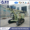 Hfpv-1 Crawler Photovoltaic Solar Pile Drill Rig for Home Solar Energy