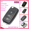Original Smart Remote Key for VW Magotan Cc with 3 Buttons 433MHz ID46 Chip