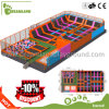 2017 Big Trampoline for Children Cheap Sky Zone Kids Indoor Trampoline Park