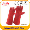 Hot Resistant Leather Industrial Safety Welding Work Gloves (11107)