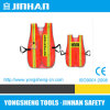 High Visibility Reflective Polyester Safety Vest Hook & Loop Y Type