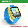 3G Android Video Call GPS Kid Tracking Watch with Sos Alarm