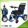 All Terrain Lightweight Electric Folding Wheelchair for Disabled