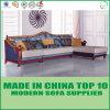 Modern Elegant European Style L Shape Wooden Fabric Sofa