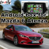 Android 4.4 5.1 GPS Navigation Box for Mazda 6 Atenza Video Interface