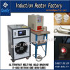 Ultra Fast Melting Gold Silver Machine Ultra High Frequency Induction Heating Melting Furnace for Melting Gold Silver Machine with Quartz Crucible