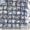 30mm Opening Spring Wire Steel Mesh Creen for Mine