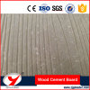 Interior and Exterior Wall Fireproof Fiber Cement Wood Grain Board