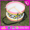 2015 Hot Sale Wooden Drum Toy, Wooden Drum Toy, Kids′ Drum Wooden Toy, Wooden Instrument Drum W07j038