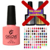 Wholesale OEM 93 Color One Step Gel Nail Polish