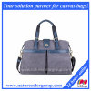 Fashion Canvas and Leather Carry-on Travel Tote Bag
