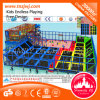 Ce Indoor Soft Play with Trampoline Maze Playground for Sale