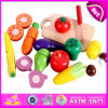 See Larger Image 2015 Kids Wooden Vegetable, Fruit Cutting Toy, Green Paint Pretend Play Cutting Toy, Wooden Magnetic Cutting Vegetables Toy W10b125