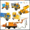 Zhengzhou Factory Wet Shotcrete Machine with Folding-Telescopic Arm