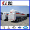 Liquid Natural Gas Transport 55.6 Cbm LNG Tank Semi Trailer