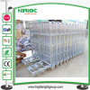 Metal Foldable Nestable Warehouse Wire Mesh Roll Cage Cart