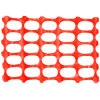 1 X 50m Orange Safety Mesh Fence