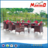 Hot Sale Home & Garden Furniture and 8 Seater Rattan Dining Set