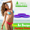 Custom Adjustable Running Silicone Rubber Band Wristband Bracelet