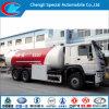 10~12ton LPG Bobtail Truck 6*4 HOWO 24, 000liters LPG Gas Bobtail