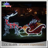 Custom Outdoor Garden Christmas Decoration 3D Reindeer Motif Light