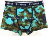 Allover Camouflage Printed New Style Men′s Boxer Short Underwear