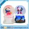 Winter Water Snow Globe Musical Santa Snowman White Christmas
