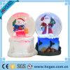 Winter Water Snow Globe Musical Santa Snowman White Christmas