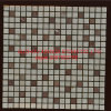 Flash Red White Mixed Honed Wall Mosaic