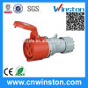 Wst 514 4pin High-End Type Industrial Plug 16A IP44 Industrial Connector with CE, RoHS Approval