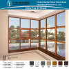 Aluminium/Aluminum Tilt and Turn Window Mix Fixed Window