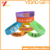 Custom Colorful Debossed Design Silicone Wristband (YB-AB-009)