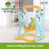 2017 Bear Style Cheap Plastic Indoor Baby Swing with Ce (HBS17022C)