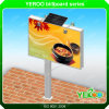 Outdoor LED Backlit Billboard Advertising Solar Steel Billboard