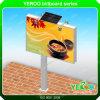 Outdoor LED Backlit Billboard Advertising Solar Steel Billboard