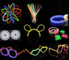 Flexible Glow Stick Light Sticks with Spectacle Frame Bracelet and Hair Accessory Design
