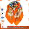 Wholesale Custom Top Designer Fashion Printed Women Long Silk Scarf