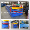 Double Deck Roofing Sheet Tile Roll Forming Machine