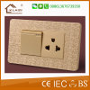 Modern Style Mosaic Color Electric Switch Socket for Home