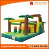 Inflatable Jungle Bouncer Obstacle Course (T8-350)